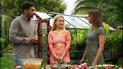 Levi Canning, Roxy Willis, Bea Nilsson in Neighbours Episode 8509
