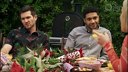 Ned Willis, Levi Canning, Roxy Willis in Neighbours Episode 8509