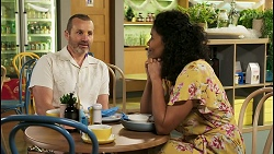 Toadie Rebecchi, Audrey Hamilton in Neighbours Episode 8510
