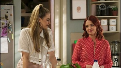 Chloe Brennan, Nicolette Stone in Neighbours Episode 8510