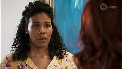 Audrey Hamilton, Nicolette Stone in Neighbours Episode 8511