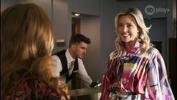 Terese Willis, Monty Shortt, Amy Greenwood in Neighbours Episode 8511