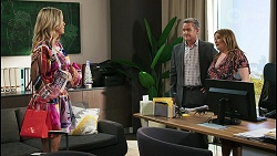Amy Greenwood, Paul Robinson, Terese Willis in Neighbours Episode 8511