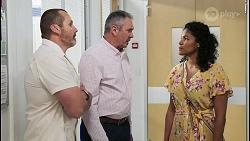 Toadie Rebecchi, Karl Kennedy, Audrey Hamilton in Neighbours Episode 8511
