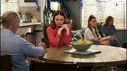 Clive Gibbons, Nicolette Stone, Chloe Brennan, Jane Harris in Neighbours Episode 8511