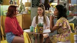 Nicolette Stone, Chloe Brennan, Audrey Hamilton in Neighbours Episode 8511
