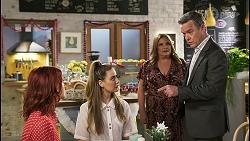 Nicolette Stone, Chloe Brennan, Terese Willis, Paul Robinson in Neighbours Episode 8511