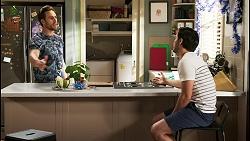 Aaron Brennan, David Tanaka in Neighbours Episode 8512