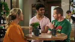 Amy Greenwood, Jay Rebecchi, Toadie Rebecchi in Neighbours Episode 8512