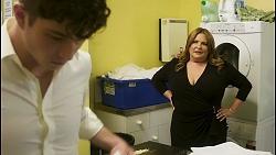 Hendrix Greyson, Terese Willis in Neighbours Episode 8512
