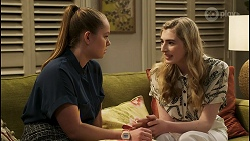 Harlow Robinson, Mackenzie Hargreaves in Neighbours Episode 8513