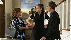 Terese Willis, Harlow Robinson, Paul Robinson in Neighbours Episode 8513
