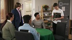 Jay Rebecchi, Kane Jones, Hendrix Greyson in Neighbours Episode 8514