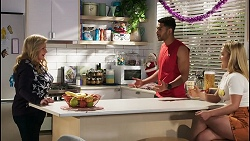 Sheila Canning, Levi Canning, Roxy Willis in Neighbours Episode 8514