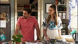 Aaron Brennan, Chloe Brennan in Neighbours Episode 8515