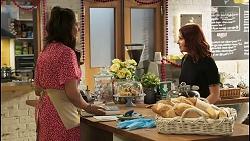 Dipi Rebecchi, Nicolette Stone in Neighbours Episode 8516