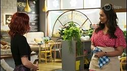 Nicolette Stone, Dipi Rebecchi in Neighbours Episode 8516