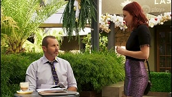 Toadie Rebecchi, Nicolette Stone in Neighbours Episode 8517