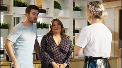 Ned Willis, Terese Willis, Amy Greenwood in Neighbours Episode 8517