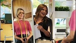 Amy Greenwood, Terese Willis in Neighbours Episode 8518