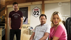 Ned Willis, Shane Rebecchi, Amy Greenwood in Neighbours Episode 8519