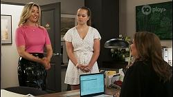 Amy Greenwood, Harlow Robinson, Terese Willis in Neighbours Episode 8519