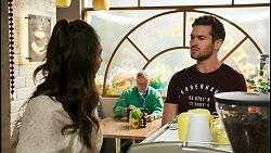 Dipi Rebecchi, Ned Willis in Neighbours Episode 8519
