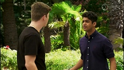 Hendrix Greyson, Jay Rebecchi in Neighbours Episode 8520