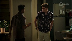 Jay Rebecchi, Hendrix Greyson in Neighbours Episode 8520