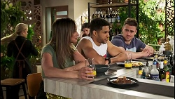Roxy Willis, Bea Nilsson, Levi Canning, Kyle Canning in Neighbours Episode 8521