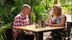Clive Gibbons, Sheila Canning in Neighbours Episode 8521