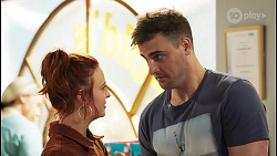 Nicolette Stone, Kyle Canning in Neighbours Episode 8522