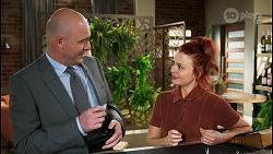 Tim Collins, Nicolette Stone in Neighbours Episode 8522