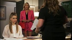 Chloe Brennan, Amy Greenwood, Terese Willis in Neighbours Episode 8523
