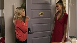 Amy Greenwood, Chloe Brennan in Neighbours Episode 8523