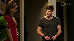 Chloe Brennan, Hendrix Greyson in Neighbours Episode 8524
