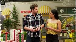 Shane Rebecchi, Yashvi Rebecchi in Neighbours Episode 8525