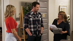 Amy Greenwood, Shane Rebecchi, Terese Willis in Neighbours Episode 8525