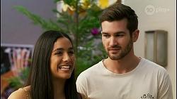 Yashvi Rebecchi, Ned Willis in Neighbours Episode 8525