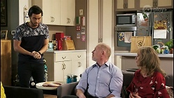 David Tanaka, Clive Gibbons, Jane Harris in Neighbours Episode 8525