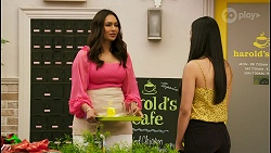 Dipi Rebecchi, Yashvi Rebecchi in Neighbours Episode 8525