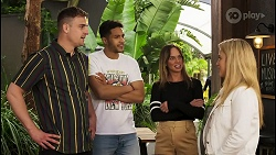 Kyle Canning, Levi Canning, Bea Nilsson, Roxy Willis in Neighbours Episode 8526