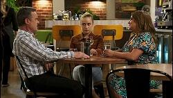 Paul Robinson, Roxy Willis, Terese Willis in Neighbours Episode 8527