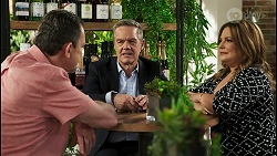 Des Clarke, Paul Robinson, Terese Willis in Neighbours Episode 8528