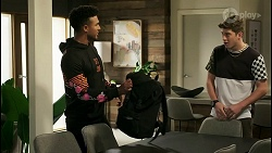 Kane Jones, Hendrix Greyson in Neighbours Episode 8528