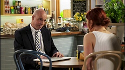 Tim Collins, Nicolette Stone in Neighbours Episode 8529