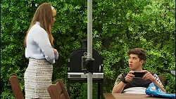 Harlow Robinson, Hendrix Greyson in Neighbours Episode 8529