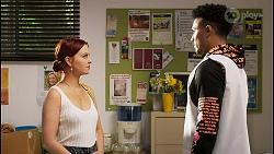 Nicolette Stone, Kane Jones in Neighbours Episode 8529