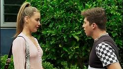 Chloe Brennan, Hendrix Greyson in Neighbours Episode 8529