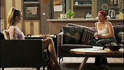 Chloe Brennan, Nicolette Stone in Neighbours Episode 8529